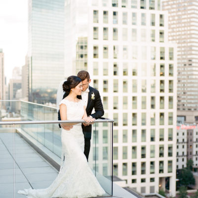 Lisa's City Chic Boston Wedding at the Mandarin Oriental